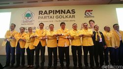 Mayoritas DPD Dukung Airlangga Pimpin Golkar 5 Tahun ke Depan