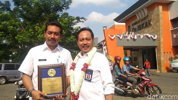 RSUD Tulungagung mendapat penghargaan RS Terbaik di Dunia.