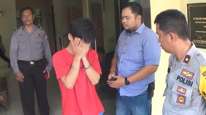 Erick Dwi Guna Yulianto menyesali perbuatannya (Foto: Istimewa)