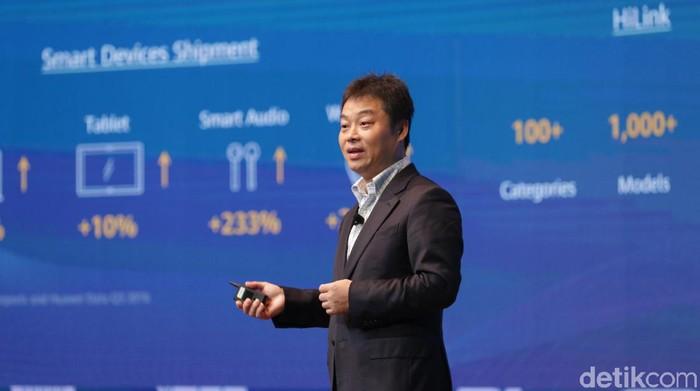 President Huawei Consumer Cloud Service Zhang Pingan Foto: Rachmatunnisa/detikINET