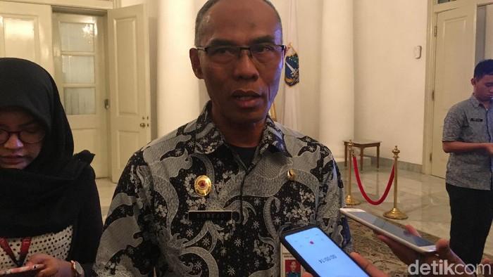 Kepala BPBD DKI Jakarta Subejo (Arief Ikhsanudin/detikcom)