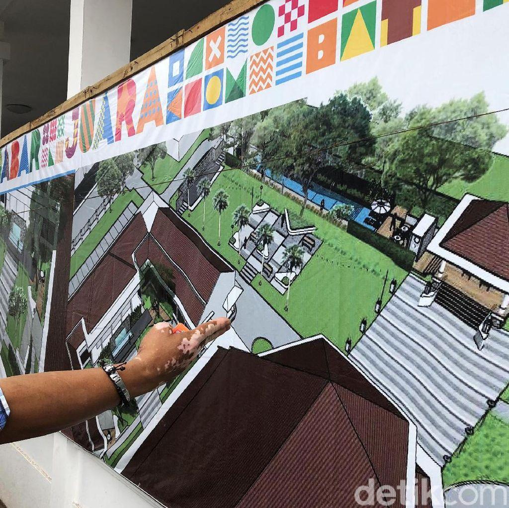 Begini Desain Kolam Renang di Rumah Dinas Ridwan Kamil
