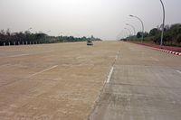 Sudut-sudut jalanan di Naypyidaw