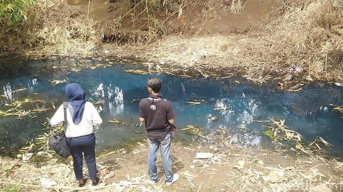 Pencemaran sungai dan selokan di Jepara. (Wikha Setiawan/detikcom)