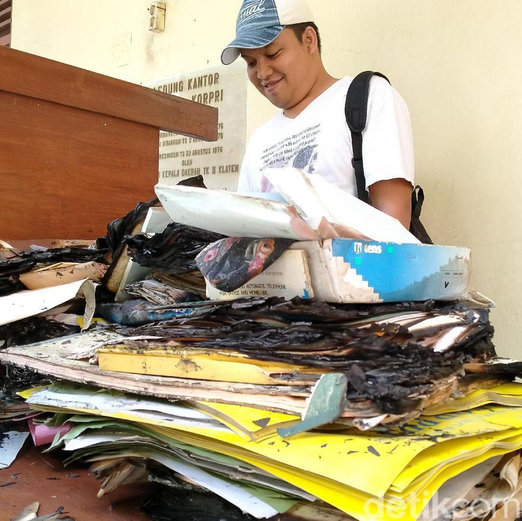 Arsip Kantor Korpri Klaten Sengaja Dibakar, 3 Orang Diperiksa Polisi