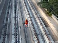 Cerita di Balik Long Span Terpanjang Dunia di LRT Jabodebek