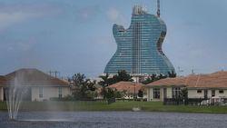 Hard Rock Bikin Hotel Berbentuk Gitar Pertama di Dunia