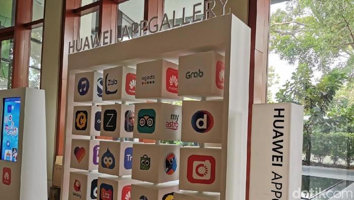 Huawei AppGallery. (Foto: detikINET/Rachmatunnisa