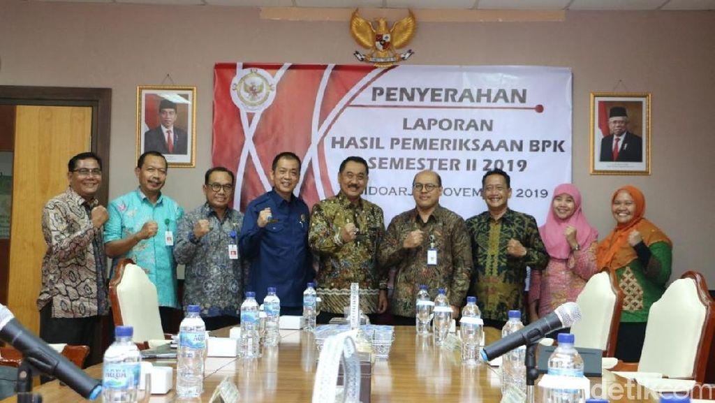 BPK Jatim Serahkan LHP PDTT ke Pemkab Banyuwangi