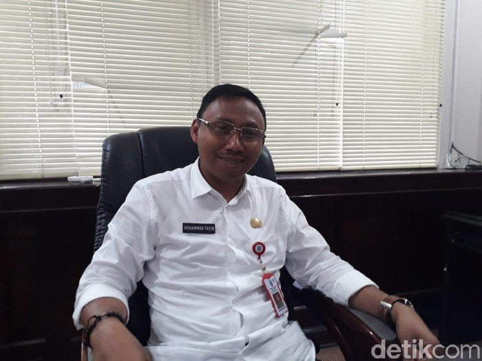 Kepala Dinas Pemberdayaan Masyarakat Desa Provinsi Jawa Timur Mochammad Yasin (Hilda Meilisa Rinanda/detikcom)