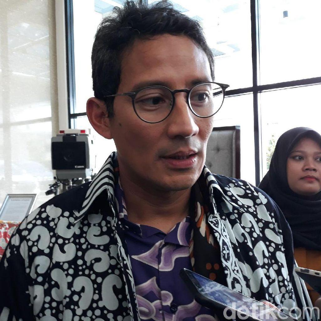 Kata Sandiaga yang Siap Jadi Jurkam Gerindra di Pilkada 2020