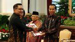 Jokowi Serahkan DIPA 2020 Kepada Menteri hingga Gubernur
