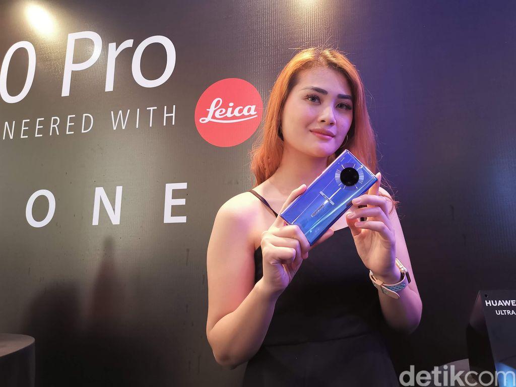 Huawei Mate 30 Pro terbaik secara keseluruhan. Foto: detikINET/Anggoro Suryo Jati