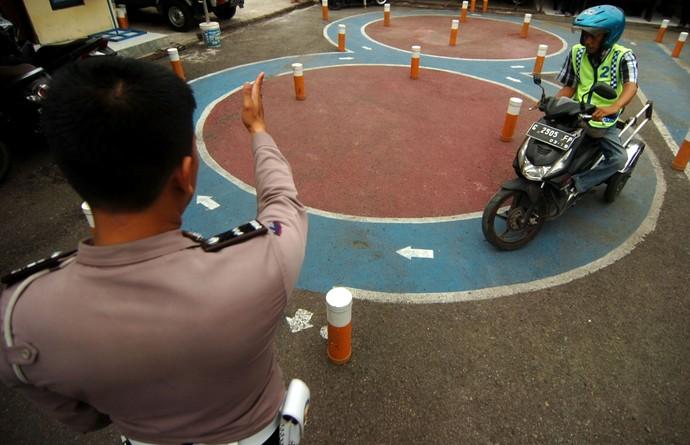 Melihat Ujian SIM D untuk Penyandang Disabilitas