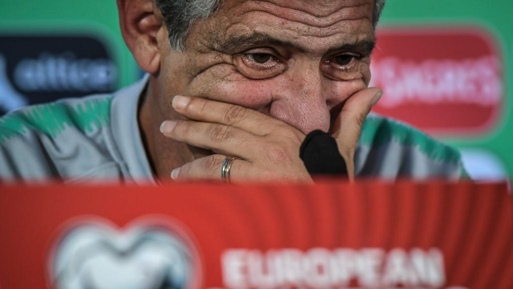 Fernando Santos Sebal Ditanya Terus soal Ronaldo yang Ngambek