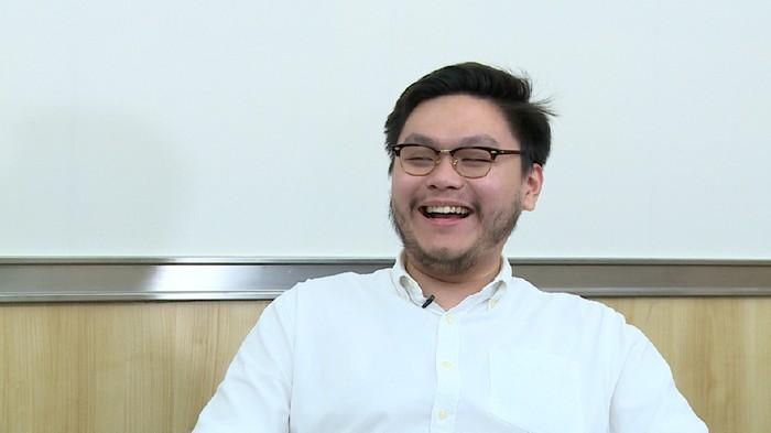William Aditya Sarana, anggota DPRD DKI dari Fraksi PSI (Foto: Johan 20detik)
