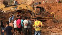 1 Pekerja Tambang Tertimbun Longsor di Gunung Sariak Padang Ditemukan Tewas