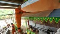 Pembangunan Taman Betawi diketahui tak menggunakan APBD, melainkan dari bantuan CSR perusahaan serta masyarakat.