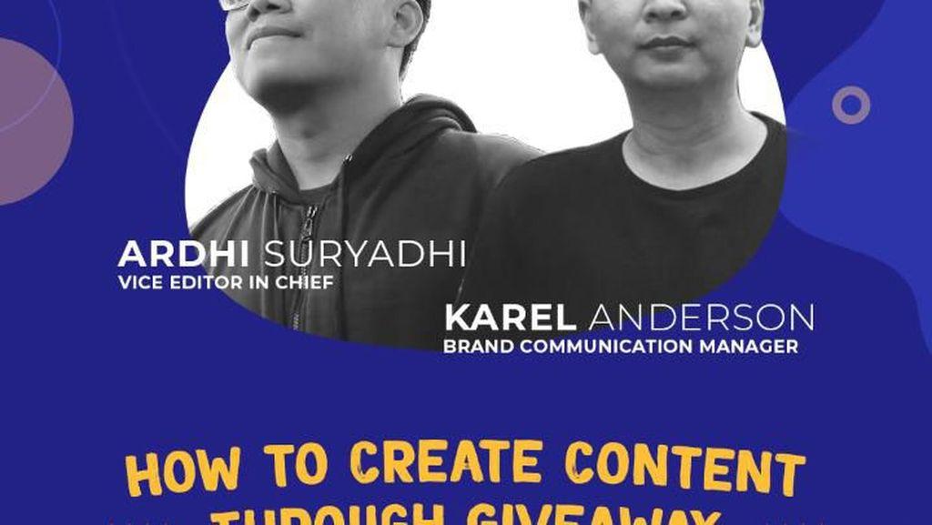 detikcom Buka-bukaan soal Giveaway di Social Media Week