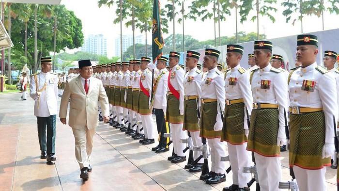 Foto: Menhan Prabowo Subianto di Malaysia (Dok. Istimewa)