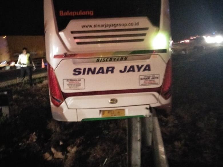 Ilustrasi kecelakaan bus di Cipali Foto: Dok. Istimewa