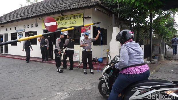 Pengamanan Kantor Polisi di Jateng Tak Tendensius ke Ojol