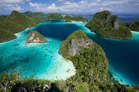 Kepulauan Raja Ampat.