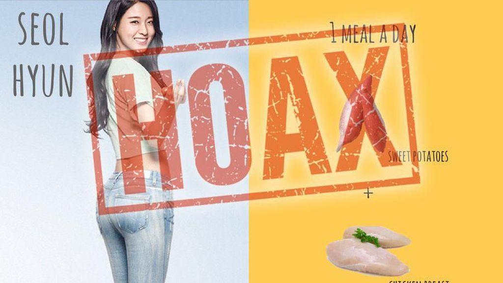 Viral Diet Bintang Kpop Seolhyun Cuma Makan Ubi, Ternyata Hoax!