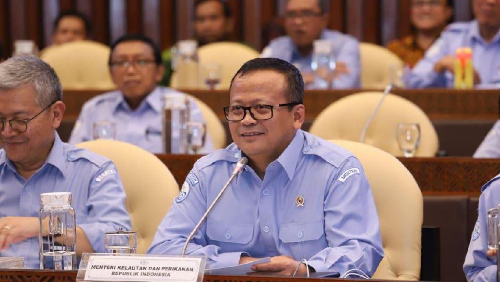 Edhy Prabowo Jelaskan Alasan Usulkan Garuda Angkut Ikan Hidup