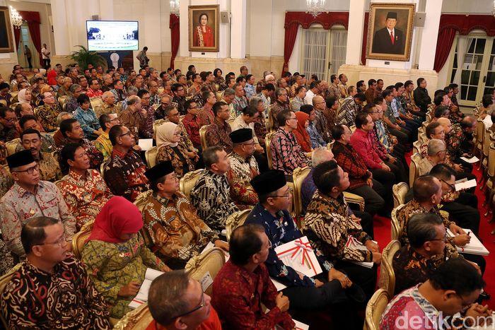 Penyerahan DIPA 2020 tersebut digelar di Istana Negara, Jakarta, Kamis (14/11/2019).