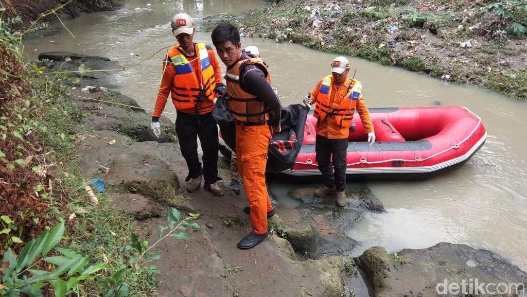 Hanyut di Sungai Cibanten, Bocah 4 Tahun Ditemukan Tewas