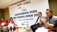 BNI Tennis Open 2019 Dimulai, Saatnya Petenis Tanah Air Unjuk Gigi