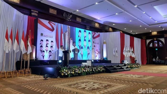 Foto: Presiden PKS Sohibul Iman (Lisye Rahayu/detikcom)