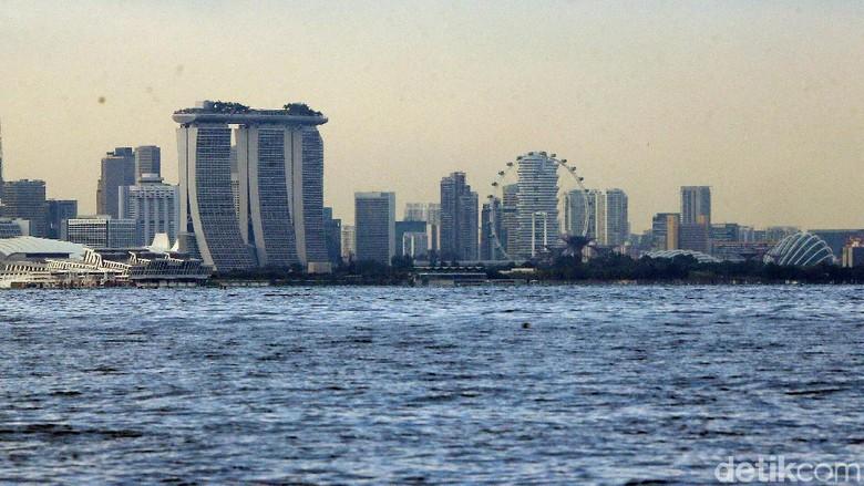 Kabupaten Karimun yang berbatasan dengan Singapura (Foto: Rengga Sancaya/detikcom)