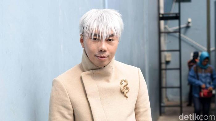 Roy Kiyoshi saat ditemui di studio Trans TV.