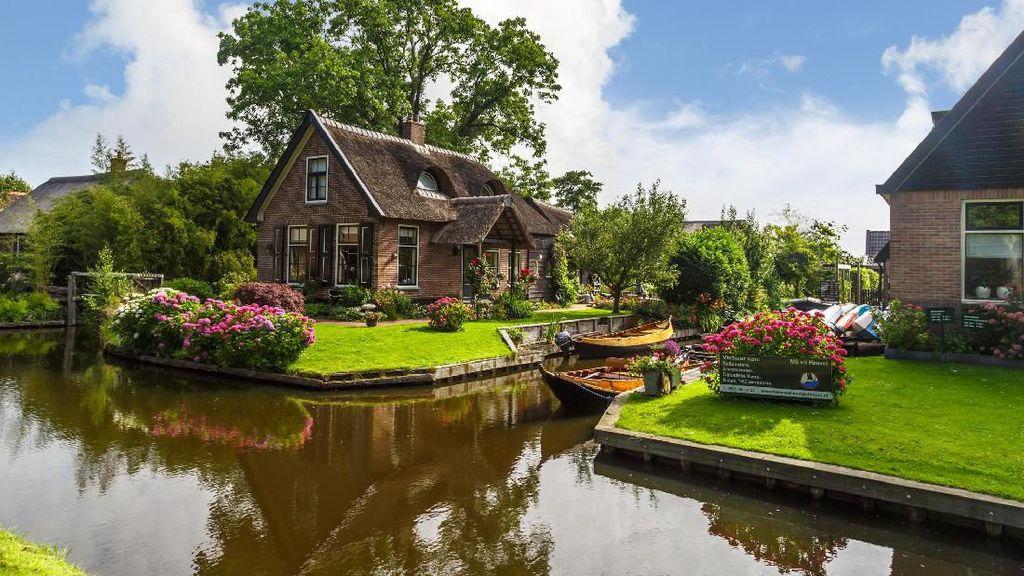 Desa di Belanda Ini bagaikan Negeri Dongeng di Dunia Nyata
