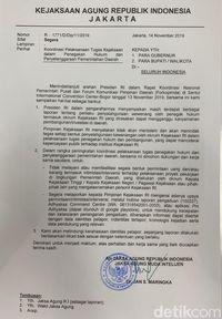 Kejagung Bikin Hotline Aduan Soal Jaksa Minta 'Japrem' ke Kepala Daerah