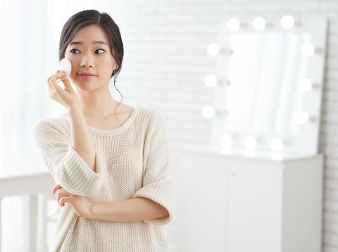 Beauty concept of asian woman.