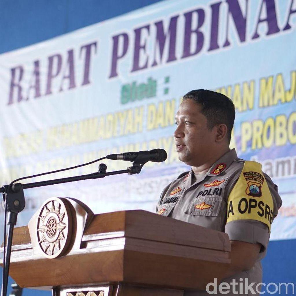 Polisi Kota Probolinggo Imbau Warga Tak Sebar Foto-foto Bom Medan