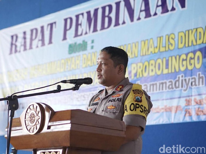 Kapolres Probolinggo Kota AKBP Ambaryadi Wijaya/Foto: M Rofiq