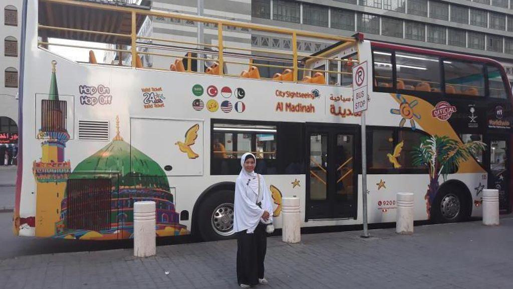 Ini Bus Hop On-Hop Off Buat ke Masjid Nabawi & Keliling Madinah