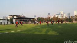 Latihan di GBK, Timnas Indonesia U-23 Siap-siap Hadapi Iran Lagi