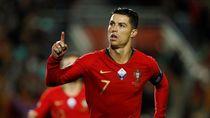 Ronaldo Hat-trick, Portugal Hancurkan Lithuania 6-0