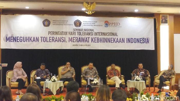 Diskusi Meneguhkan Toleransi, Merawat Kebhinnekaan Indonesia (Farih Maulana Sidik/detikcom)