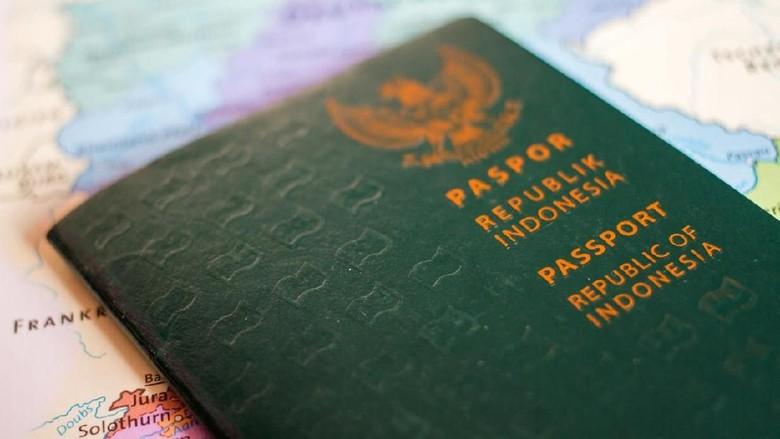 Ilustrasi Paspor Indonesia