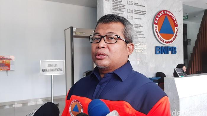 Kepala Pusat Data dan Informasi BNPB Agus Wibowo (Lisye Sri Rahayu/detikcom)