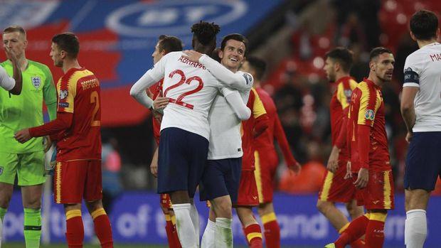 Inggris berhasil mengalahkan Montenegro dengan skor 7-0.