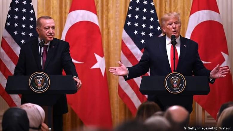Trump dan Erdogan Saling Puji dalam Pertemuan di Gedung Putih