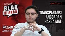 Tonton Blak-blakan William Aditya: Transparansi Harga Mati