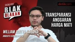 Tonton Blak-blakan William Aditya: Transparansi Harga Mati